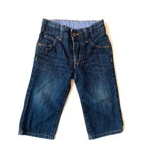 3/$25 GAP Baby Boy Dark Wash Jeans